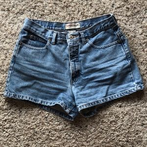 Vintage High-Waisted Jean Shorts